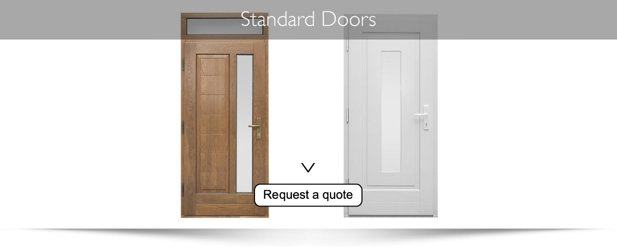 Classical wooden outer doors  sc 1 st  Sharp Installations Double Glazing & Sharp Installations Double Glazing pezcame.com